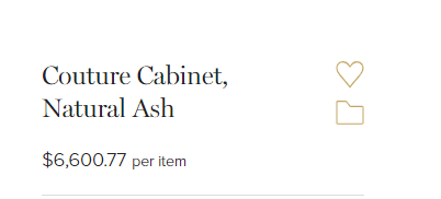 price for cabinet