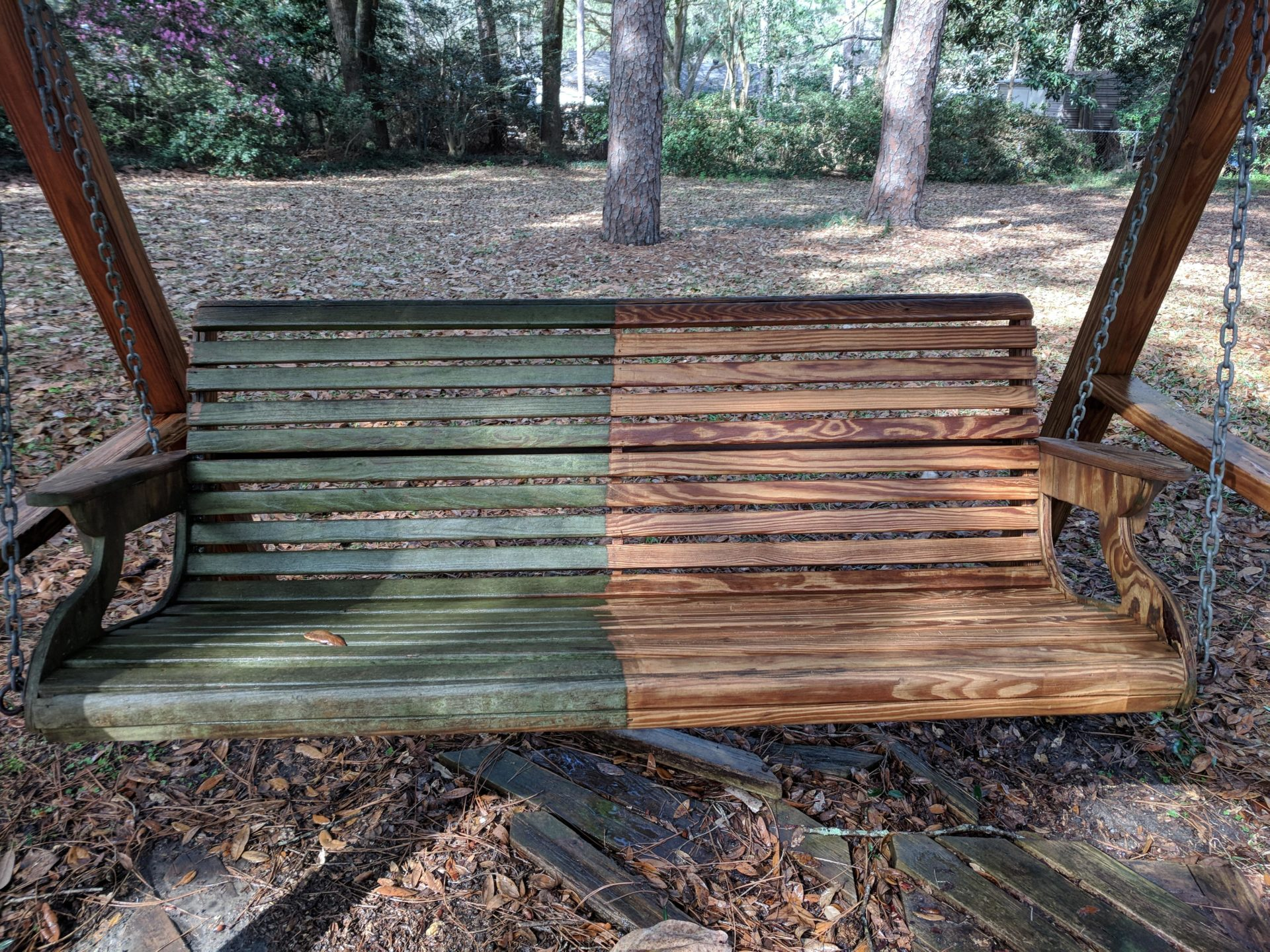 Remove Stain From Wood Without Sanding