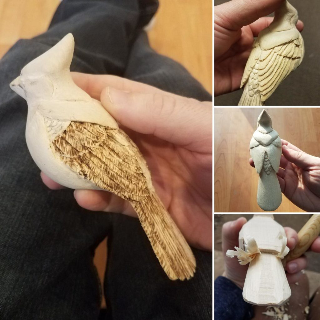 guide to carving bird